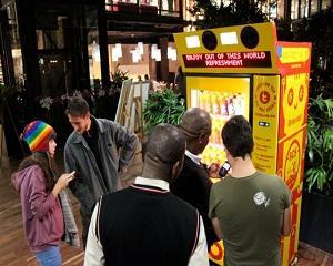 Идея за автомат - туитвай за да спечелиш безплатна напитка