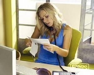 Офис секретарка у дома