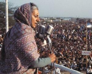 Индира Ганди - жената министър-председател на Индия