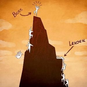 Разликите между лидера и шефа